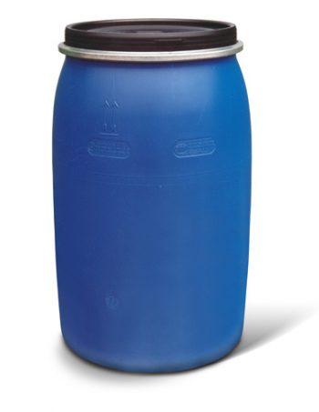 Бочка пластиковая 227 литров б\у